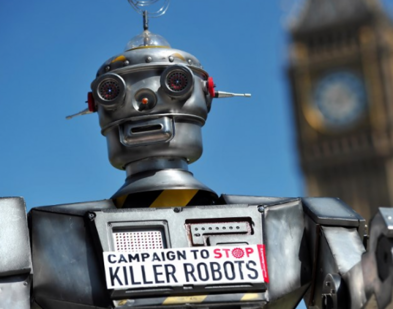 Activists urge killer robot ban 'before it is too late'