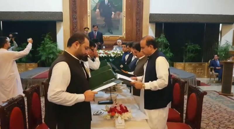 11-member Khyber Pakhtunkhwa cabinet takes oath
