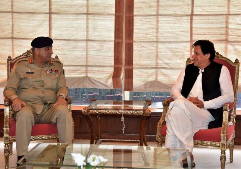 PM Imran visits GHQ, attends briefing on defence and security