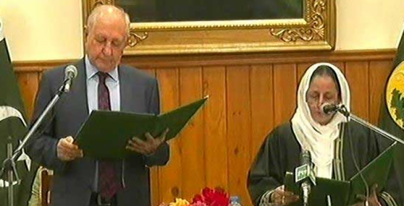 Tahira Safdar takes oath as first woman chief justice of Balochistan High Court