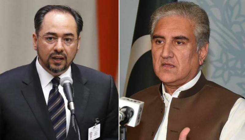 Afghan FM calls his counterpart Qureshi, agree to strengthen ties