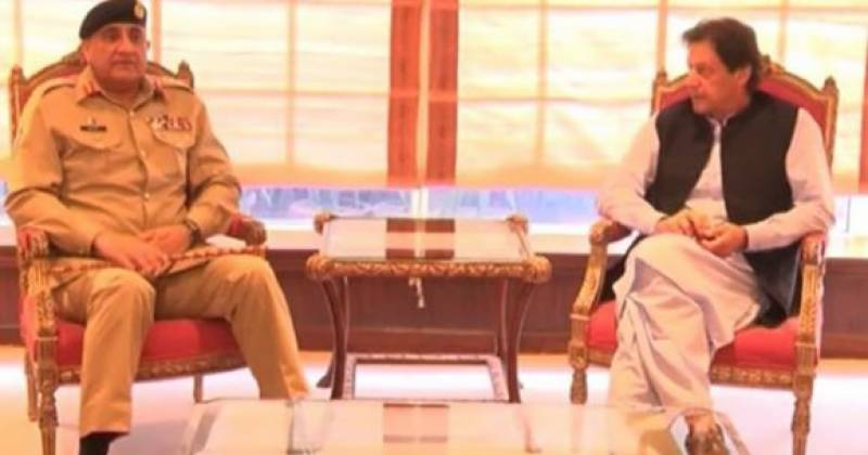 Army chief Bajwa meets PM Imran, discuss security issues