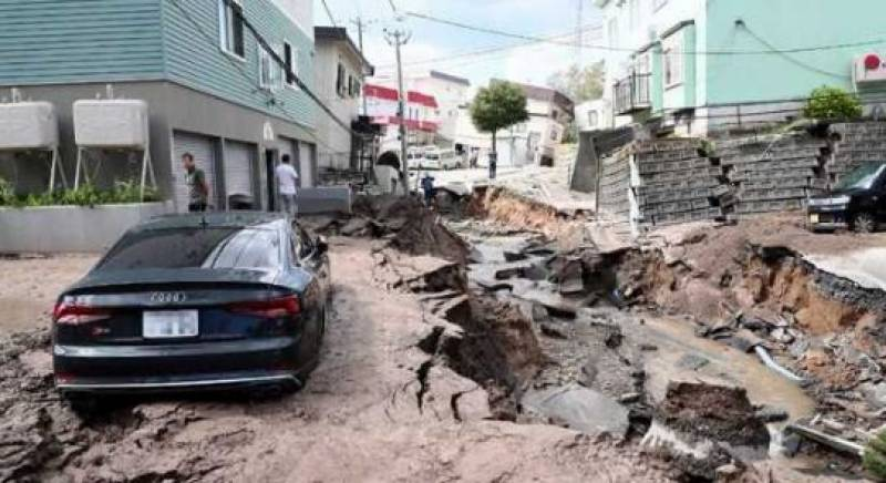 Japan quake, landslides claims 9 lives