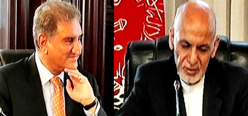 FM Qureshi, Afghan President Ghani discuss bilateral relations