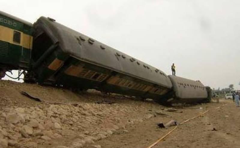At least 20 injured after nine bogies of Khushhal Express derailed