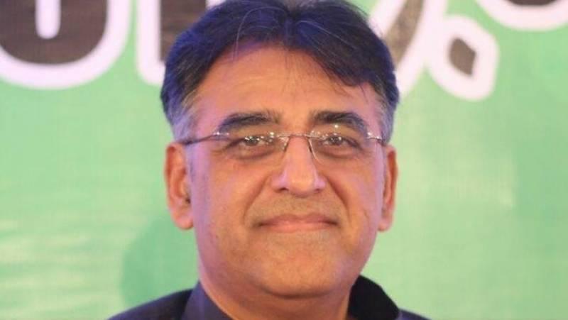 Asad Umar presents amendments for federal budget 2018-19