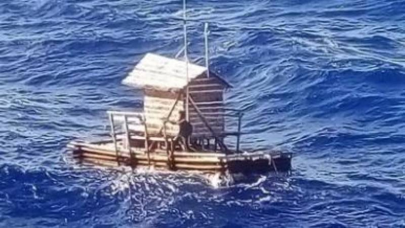 Indonesian teenager rescued 49 days after adrift at sea