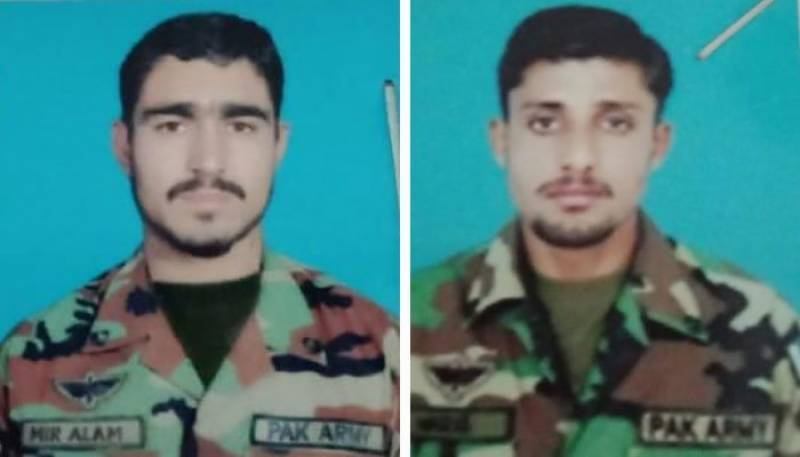 Two soldiers martyred, four militants killed in Kalat operation: ISPR