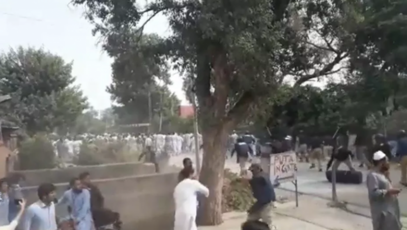Protest against fee hike: 17 Peshawar University students injured by police