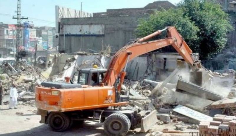 Anti-encroachment drive suspended in Lahore