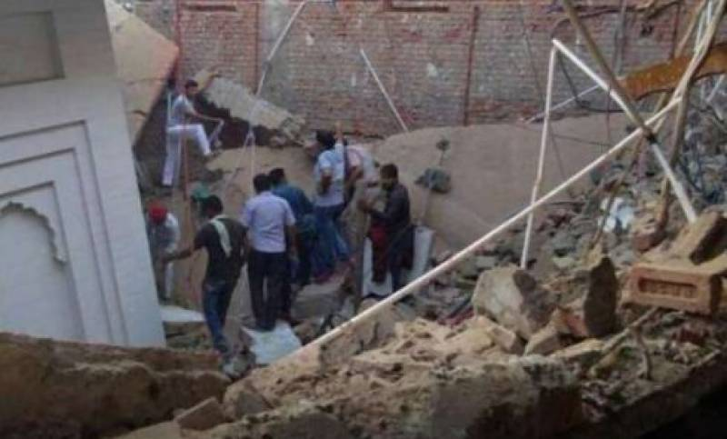 At least 8 children die as wall of house collapses