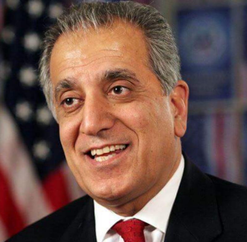 US envoy for Afghan peace Khalilzad meets Taliban officials in Qatar: WSJ