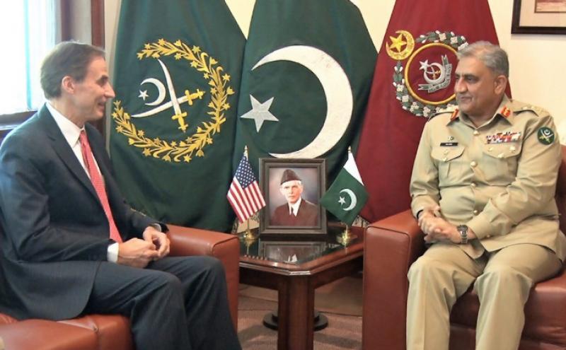 COAS Bajwa, US envoy discuss regional security, Afghan peace: ISPR