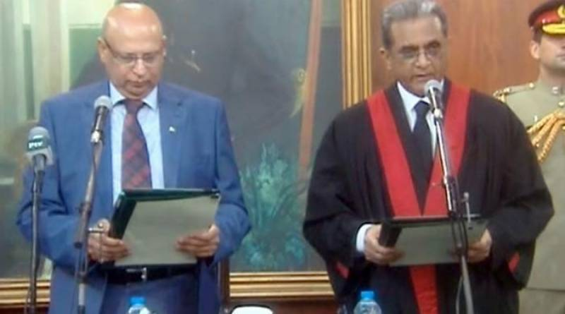 Justice Anwaarul Haq takes oath as Chief Justice Lahore High Court