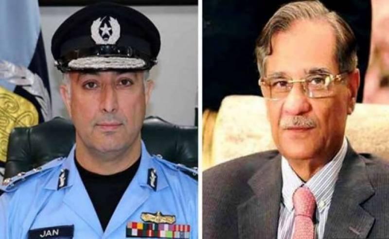 SC suspends notification of IGP Islamabad Jan Muhammad's transfer