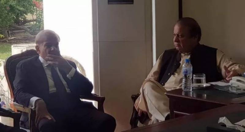 Nawaz, Shehbaz meet in Parliament House, ousted PM not to attend APC