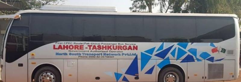 Pak-China luxury bus service embarks on maiden trip