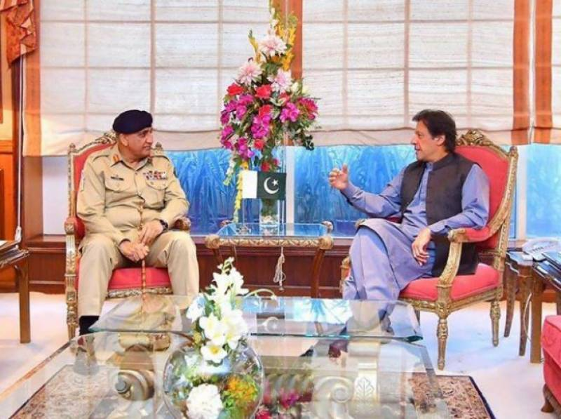 PM Imran, Army chief Bajwa discuss law and order situation