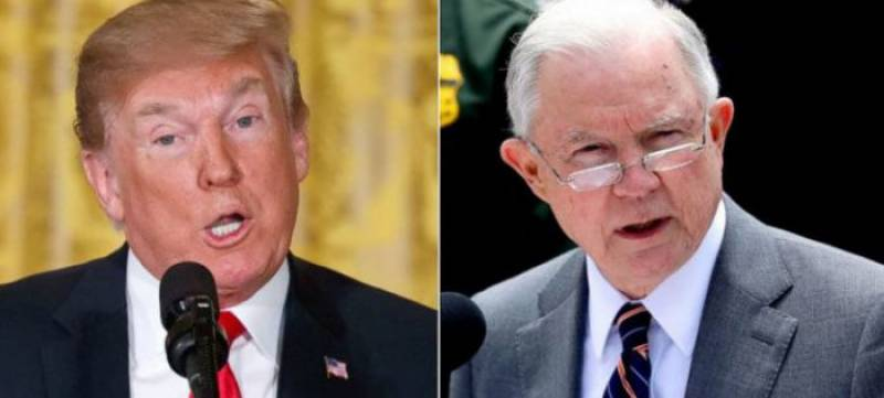 Trump sacks Attorney General Jeff Sessions amid fears for Russia probe