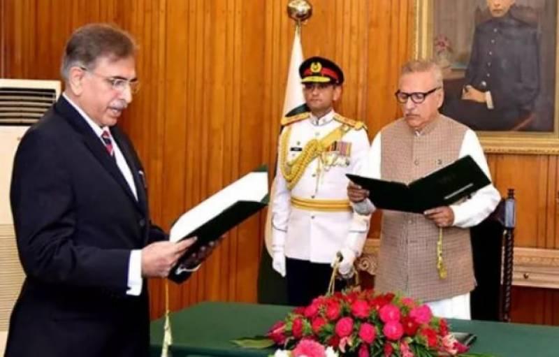 Haseeb Athar takes oath as FPSC chairman