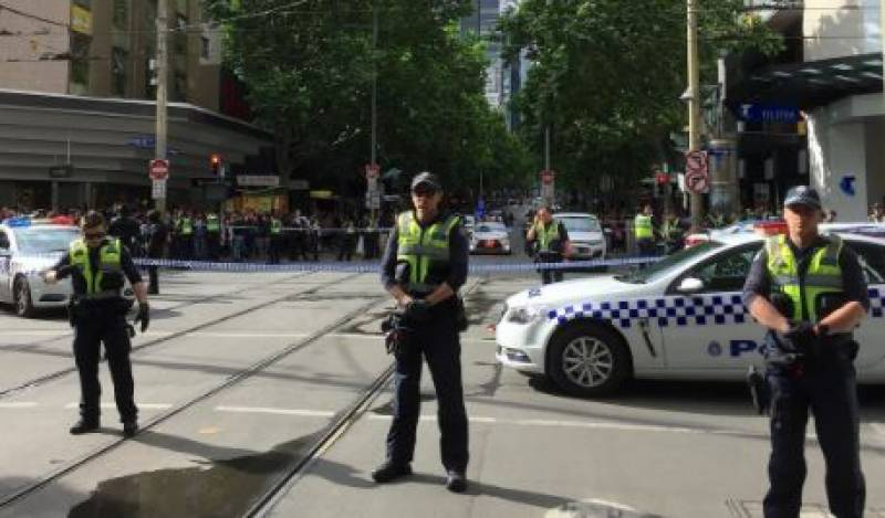 Melbourne 'terror' attack leaves one dead, two injured