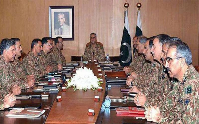 Corps Commanders review security situation, geo-strategic environment