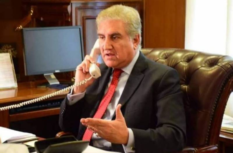 FM Qureshi telephones Chinese counterpart, shares details of terrorist attack