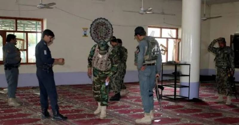Suicide blast at Afghanistan mosque kills at least 27