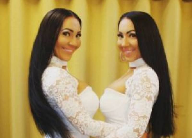 Pics: Twins spend $250,000 on plastic surgery to look identical