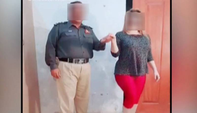 Video: Punjab Police officer suspended for dancing with woman