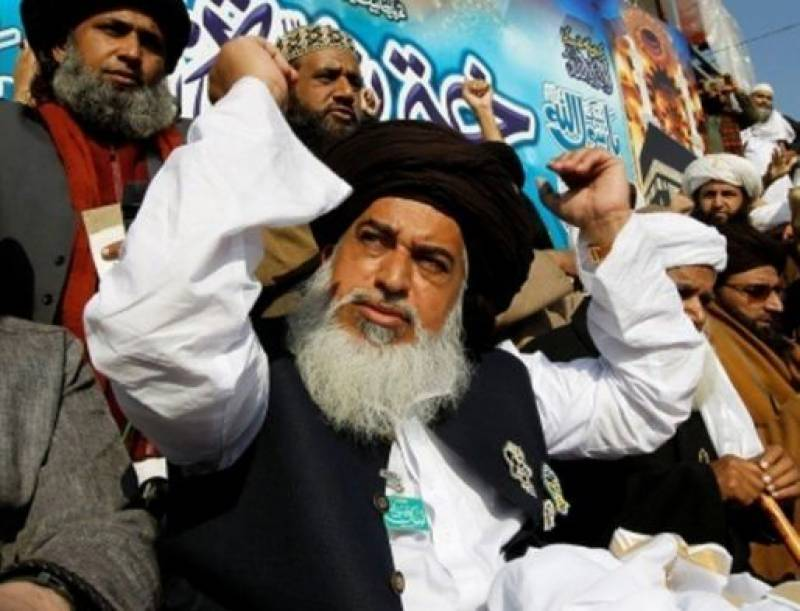 TLP's Khadim Rizvi, other leaders charged with treason, terrorism: Fawad