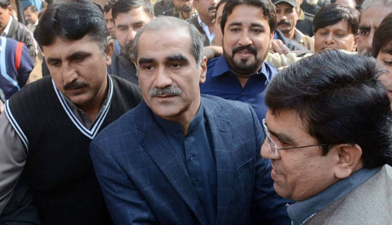 Accountability court grants 10-day physical remand of Khawaja Saad, Salman