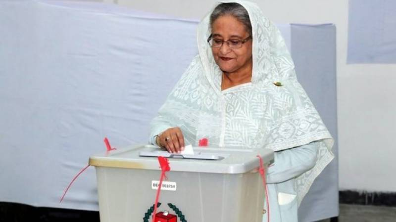 Sheikh Hasina wins Bangladesh elections, opposition says vote rigged