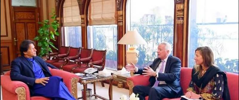 Former US envoy Cameron Munter calls on PM Imran