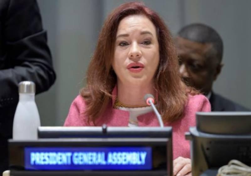 UNGA President Maria Fernanda Espinosa to visit Pakistan from Jan 18-22
