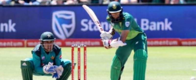 First ODI: South Africa set 267-run target for Pakistan