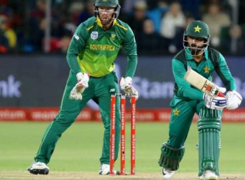 1st ODI: Pakistan beat South Africa by five wickets
