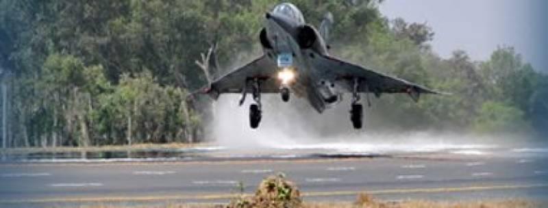 PAF pilot martyrs as aircraft crashes in Mastung