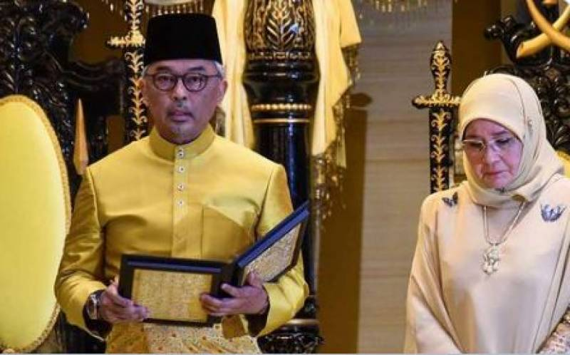 Sultan Abdullah becomes Malaysia's new king