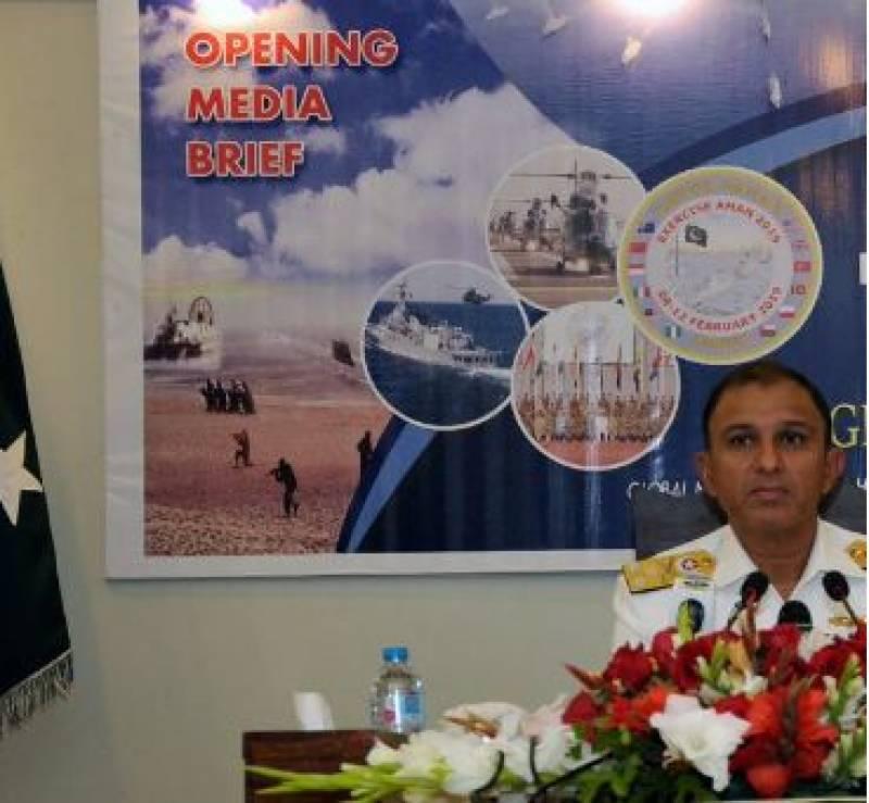 AMAN 19 naval exercise begins in Karachi