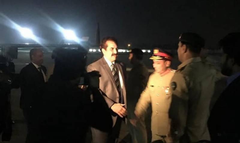 Raheel Sharif-led Islamic military coalition delegation reaches Pakistan