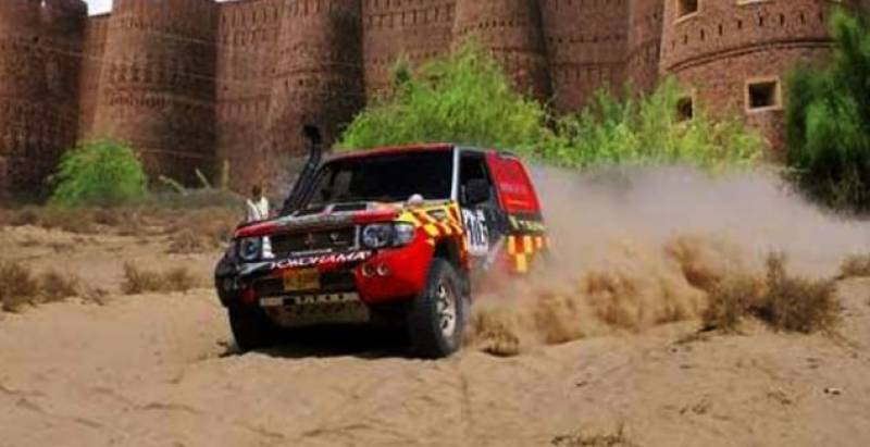 Cholistan Jeep Rally kicks off at Derawar Fort
