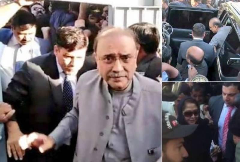 Zardari, Talpur's interim bail extended till March 5 in money laundering case