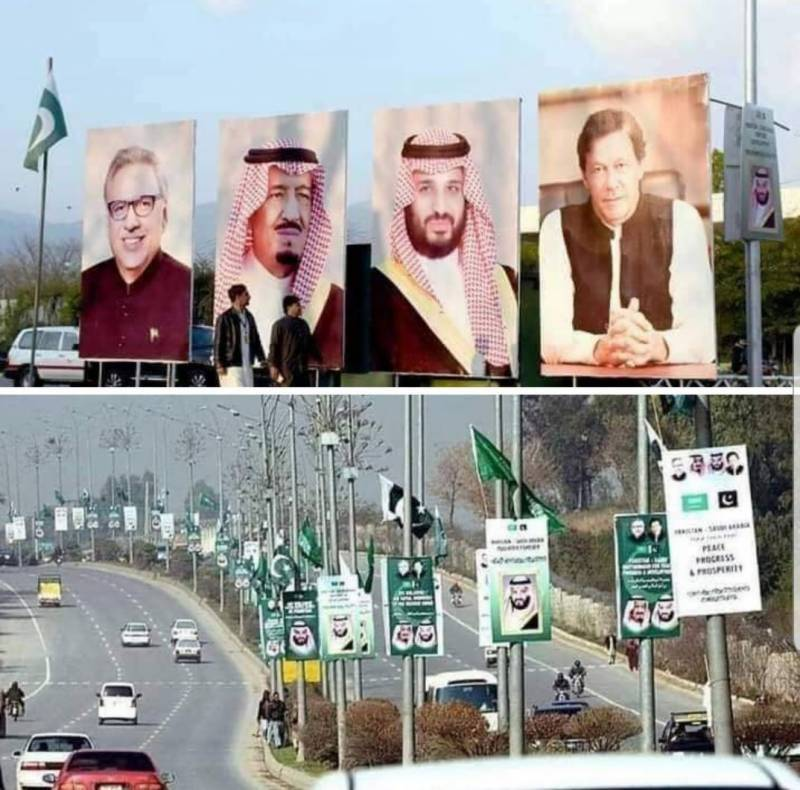 Pakistan rolls out red carpet for Saudi Crown Prince today