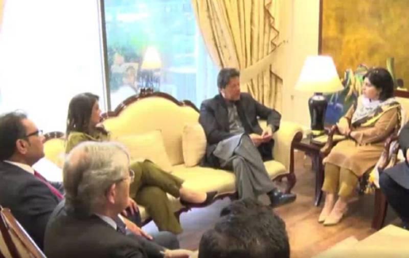 British delegation calls on PM Imran