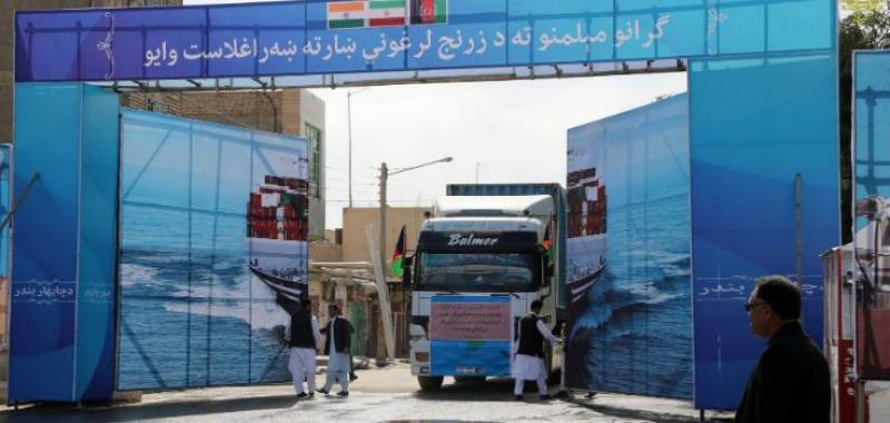 In a first, Afghanistan starts exports to India through Iran's Chabahar port
