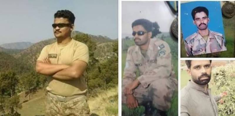 Four including two soldiers martyred in Indian forces firing along LoC