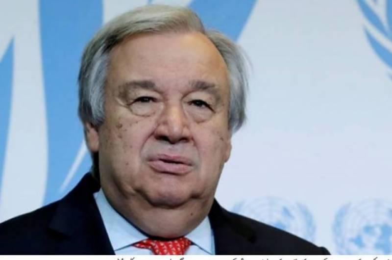 UN chief urges Pakistan, India to maintain positive momentum, hold constructive talks