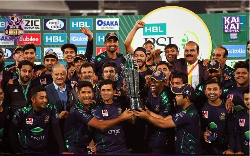Quetta Gladiators grab PSL-4 trophy by defeating Peshawar Zalmi