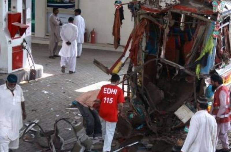 Explosion at Karachi CNG station leaves 2 dead, 3 injured